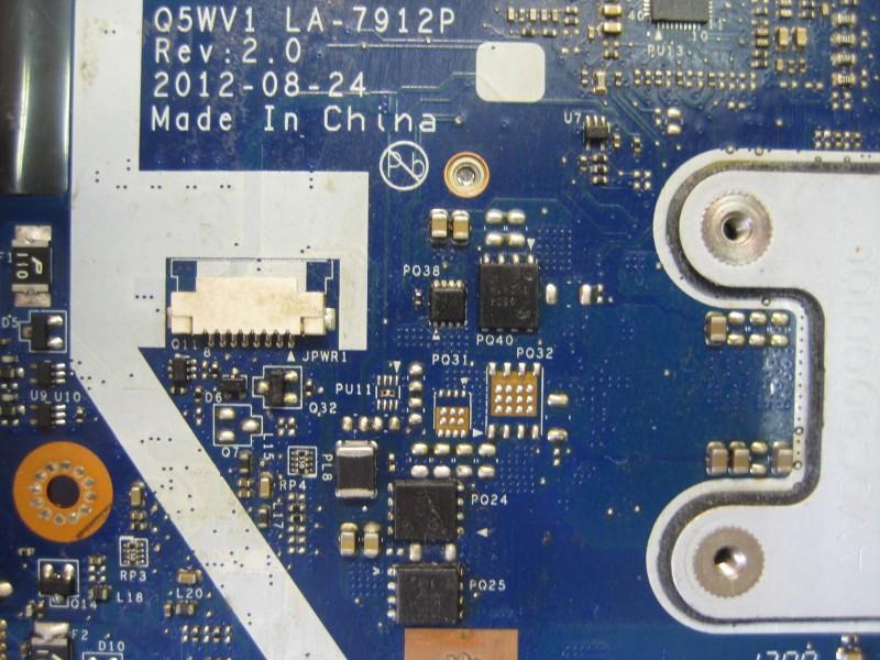Схема q5wvh la-7912p.